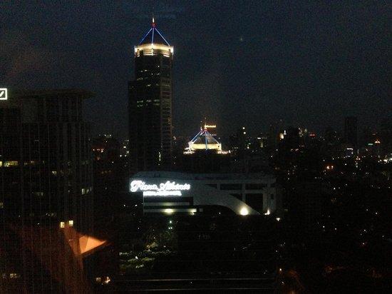 The Okura Prestige Bangkok : Вид из окна номера. 34 этаж