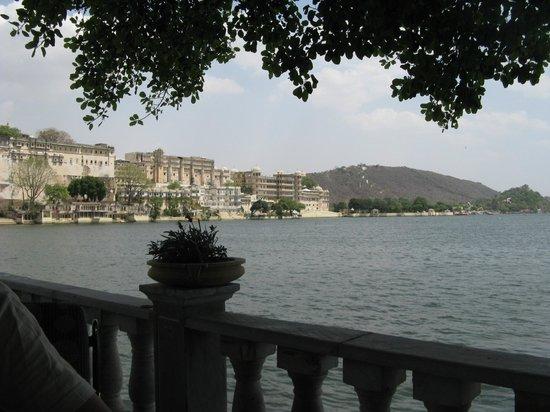 Ambrai: vista desde la terraza