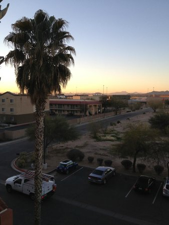Red Roof Inn Tucson North - Marana : View from room
