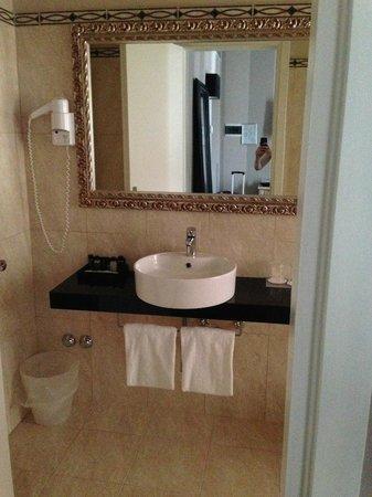 Hotel Ambasciatori: ванная