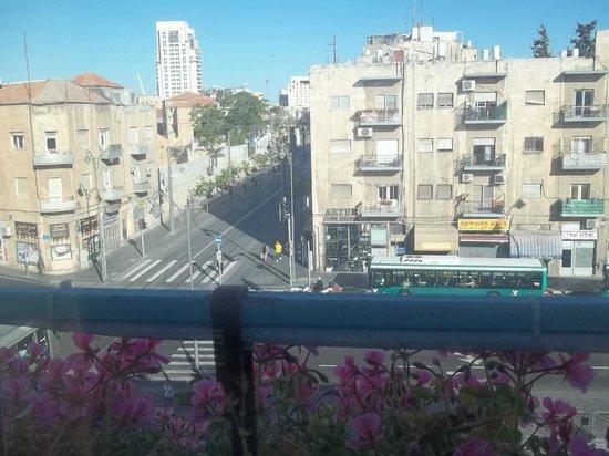 Abraham Hostel Jerusalem : Dal mio davanzale