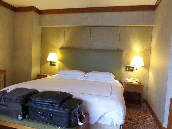 Swissotel The Stamford Singapore: Unser Zimmer
