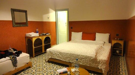 Maison d'hotes Dar Farhana: The room.