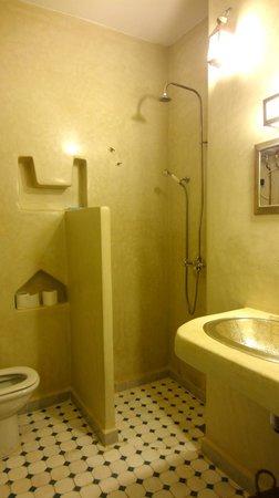Maison d'hotes Dar Farhana: The bathroom.