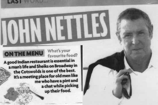 Sheikhs of Broadway: As recommended by John Nettles