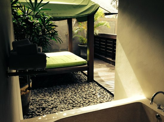 Le Jardin Villas, Seminyak: Day bed