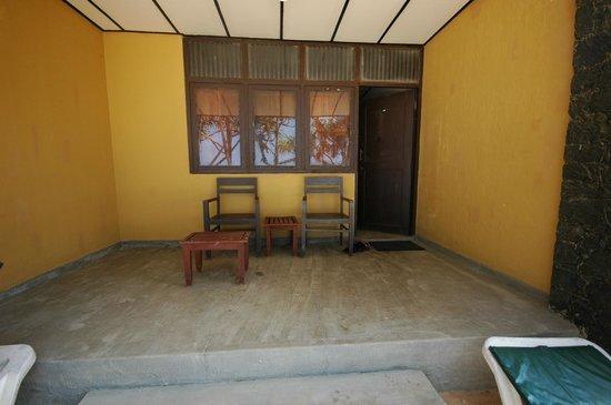 Koggala Beach Hotel : терраса