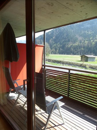 Gesundhotel Bad Reuthe: Unser Balkon