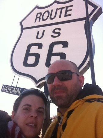 Route 66: on the road