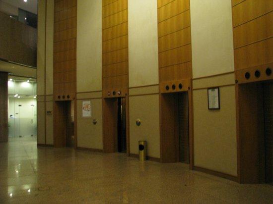Holiday Inn Singapore Atrium: The lift area