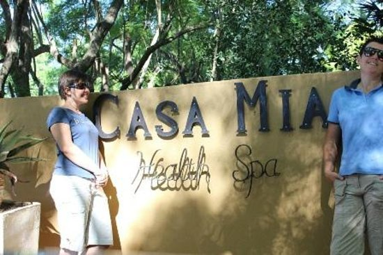 Casa Mia Health Spa and Guesthouse: Entrance