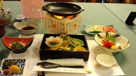 Hakone Reinanso : 夕食