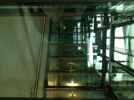Hotel Matterhorn Focus: Glass stairwell