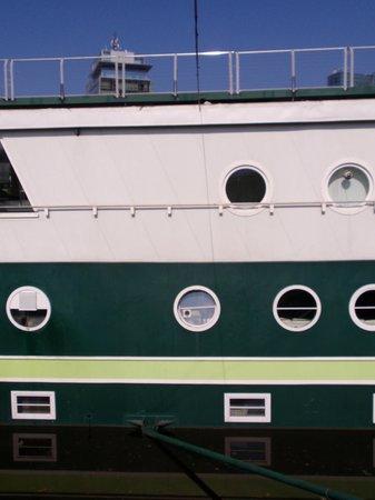 Greenyacht Hotel : partielle Außenansicht