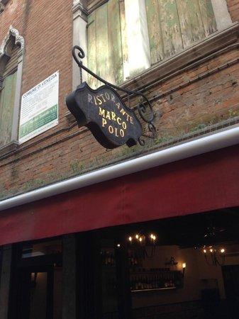 Marco Polo: esterno ristorante