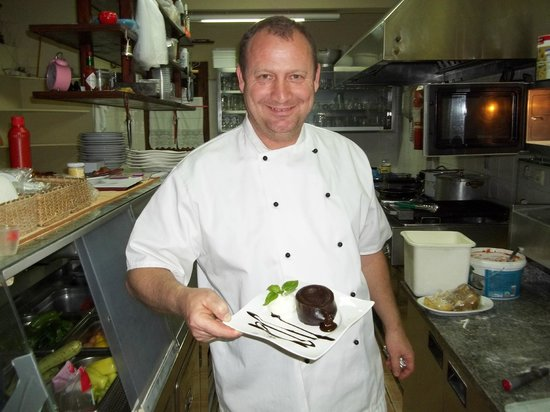 Restaurante Pizza Edwin: zapraszam na suflet czekoladowy