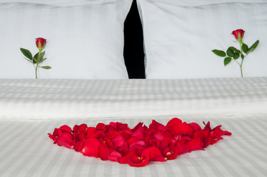 Sun Safari Club Hotel : Lovers bed