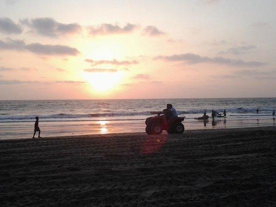 Sahyadri Tourist Home : Sun Set