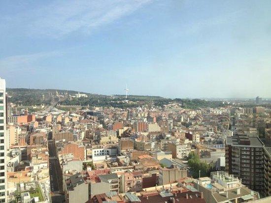 Gran Hotel Torre Catalunya: View rom room