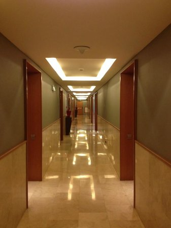 Gran Hotel Torre Catalunya : Hallway
