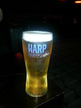 Holiday Inn Express Belfast City Queens Quarter: The Pint of Harp!