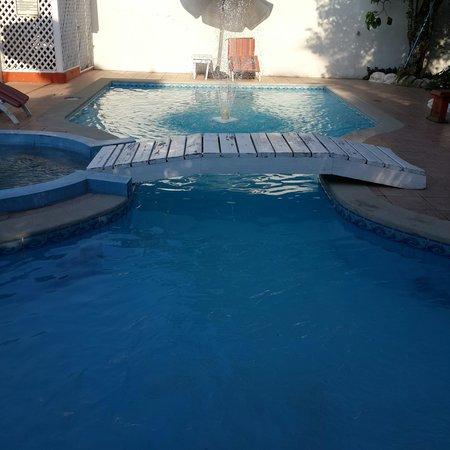 Hotel Boutique Posada Las Iguanas : la piscina