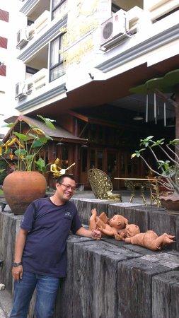 True Siam Phayathai Hotel : Depan Hotel True Siam