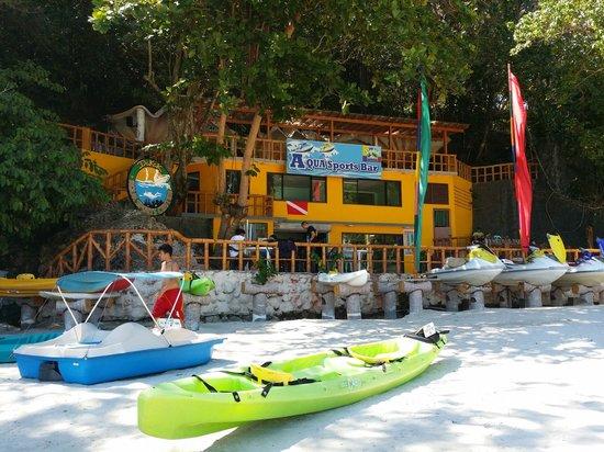 Aqua Sports Bar  Picture of Dakak Park  Beach Resort Dapitan