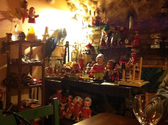 Arte e Vino: Sala dei giocattoli