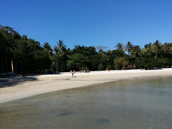Dakak Park & Beach Resort: Beach area