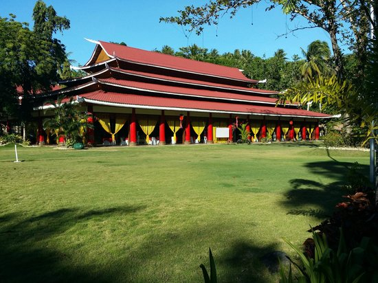 Dakak Park & Beach Resort: restaurant