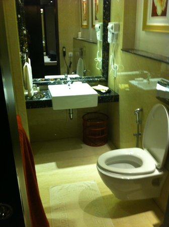 Savera Hotel: Bathroom