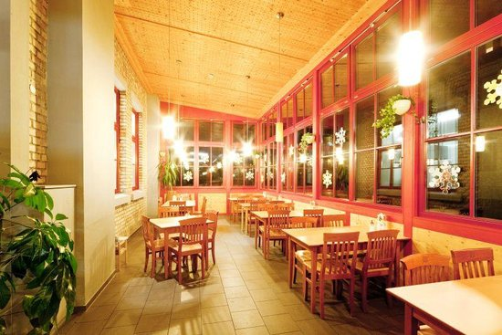 JUFA Hotel Bregenz am Bodensee: Breakfast area & restaurant