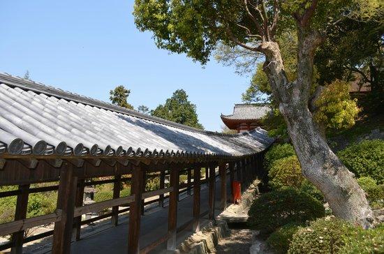 Kibitsu Shrine: 回廊