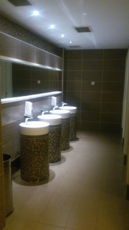 Renaissance Antalya Beach Resort & Spa: public restroom in the lobby