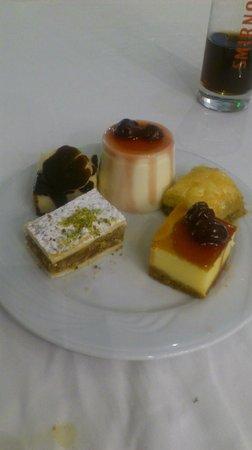 Renaissance Antalya Beach Resort & Spa: sweet deserts