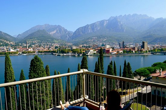 Clarion Collection Hotel Griso Lecco : View from our balcony of Lecco