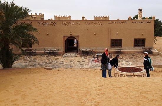 Hotel Ksar Merzouga: Edge of the desert