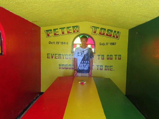Peter Tosh Monument: Tosh Mausoleum
