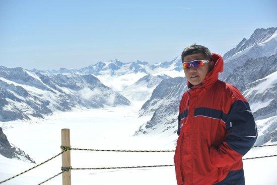 Jungfraujoch : ธารน้ำแข็งอาเล็ทซ์(Aletschgletscher Glacier)