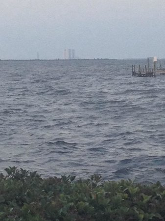 Launch Pad KSC - great view from Space View Park