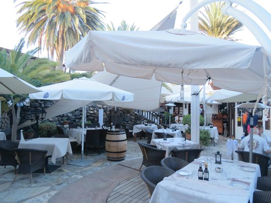 Restaurante Marabu : Outdoor dining
