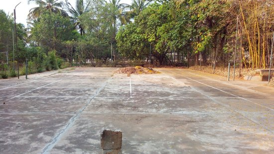 The Sambhram Roost: Tennis court