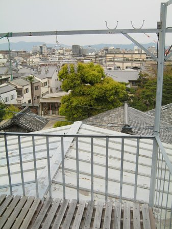 Gojo Guest House Annex: The view from the washing-line area on the roof