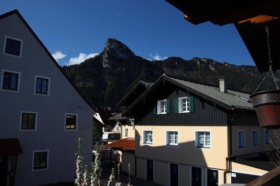 Hotel Ferienhaus Fux: Ausblick vom Hotel