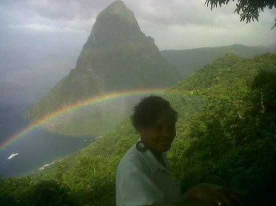 Paradise Excursions: rainbow at tetpaul