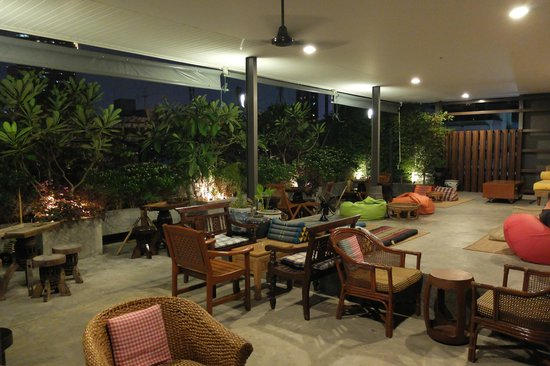 Rooftop Picture Of S1 Hostel Bangkok Tripadvisor