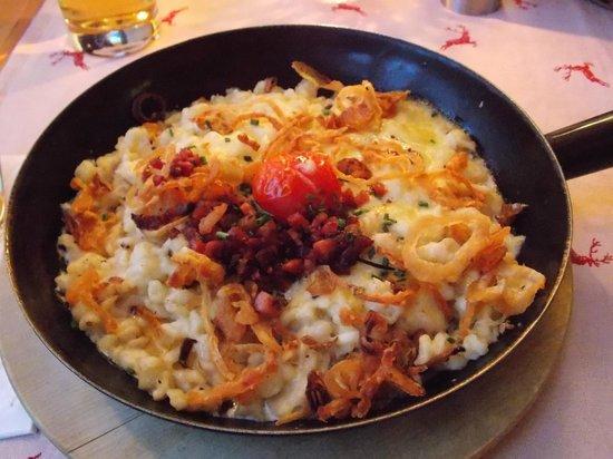 Restaurant Landhaus-Stüberl: gnocchetti al formaggio