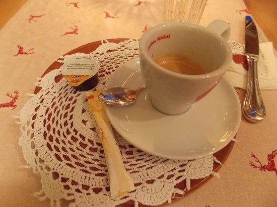 Restaurant Landhaus-Stüberl: caffè