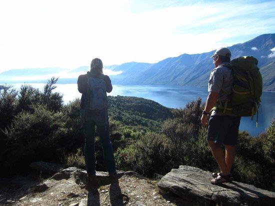 Eco Wanaka Adventures : Enjoying the view
